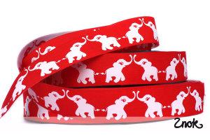 1 rulle Glad Elefant - Röd/Vit