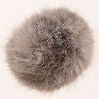 PomPom 13 cm - Silver