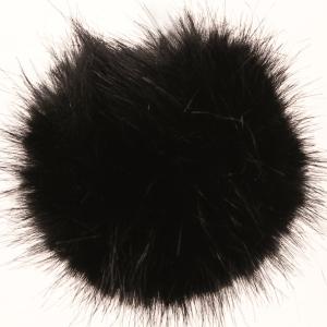 PomPom 13 cm - Svart