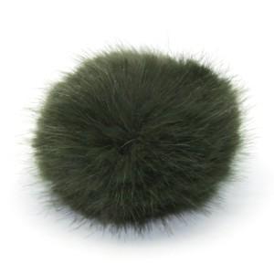 PomPom 13 cm - Oliv