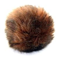PomPom 13 cm - Ljusbrun